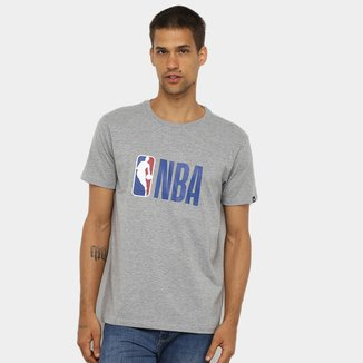 Camiseta NBA Basica Essentials Logo Masculina