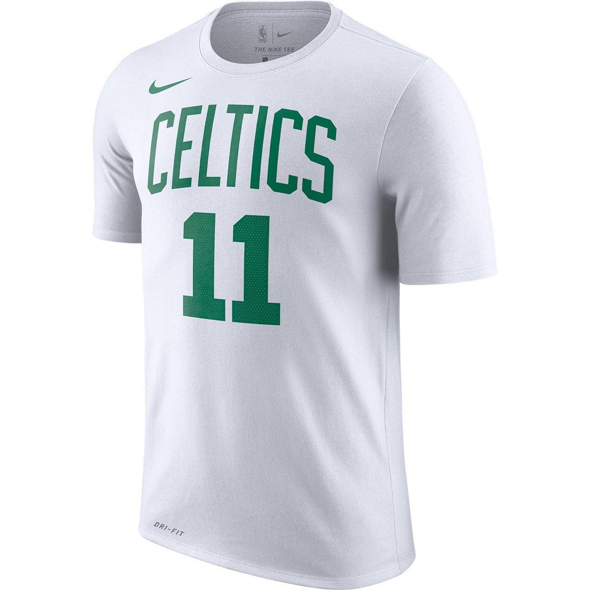 c267981d2 Camiseta NBA Boston Celtics Kyrie Irving Nike Dry 11 Masculina - Branco -  Compre Agora