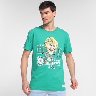 Camiseta NBA Boston Celtics Larry Bird Mitchell & Ness Masculina