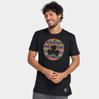 Camiseta NBA Boston Celtics Logo Masculina
