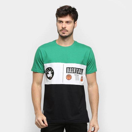 Camiseta NBA Boston Celtics Masculina - Verde
