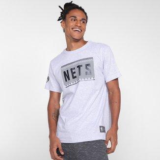 Camiseta NBA Brooklyn Nets Basic Masculina