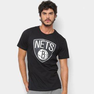 Camiseta NBA Brooklyn Nets Big Logo Masculina
