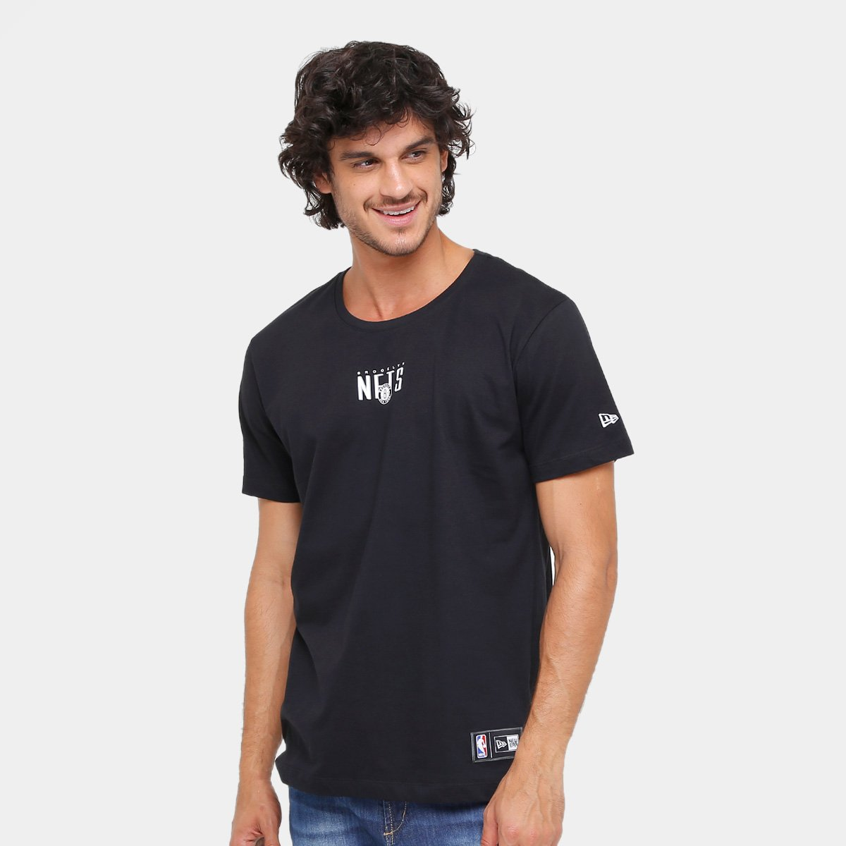 63106a321f Camiseta NBA Brooklyn Nets New Era Fresh Market Masculina | Loja NBA