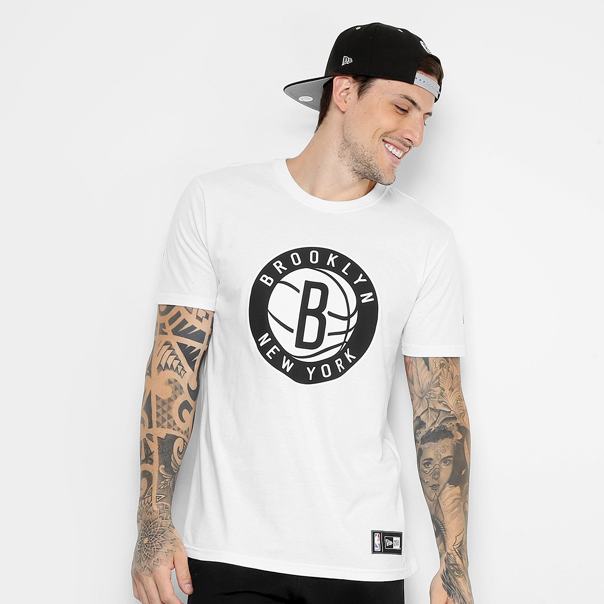 e42a6f1837 Camiseta NBA Brooklyn Nets New Era Masculina | Loja NBA