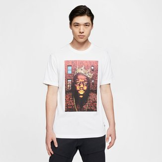Camiseta NBA Brooklyn Nets Nike Biggie Ex MRL Masculina