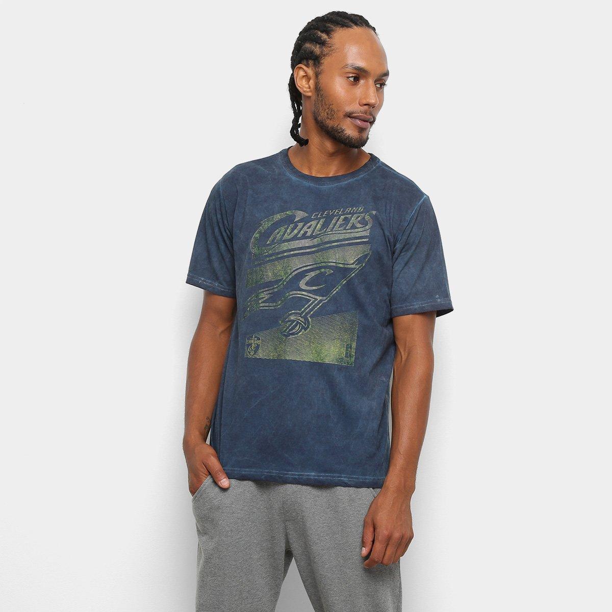 Camiseta NBA Cavaliers Marmorizada 17 Masculina - Compre Agora ... afdac56c92cc8