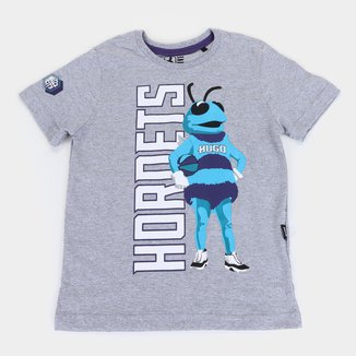 Camiseta NBA Charlotte Hornets Juvenil Masculina