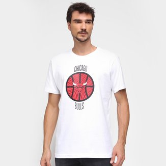 Camiseta NBA Chicago Bulls Ball Masculina