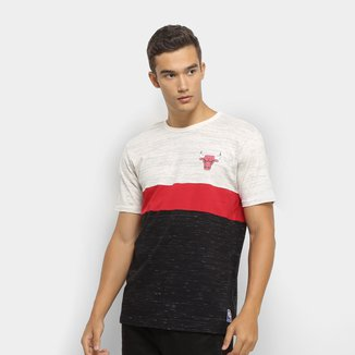 Camiseta NBA Chicago Bulls Block Colors Masculina