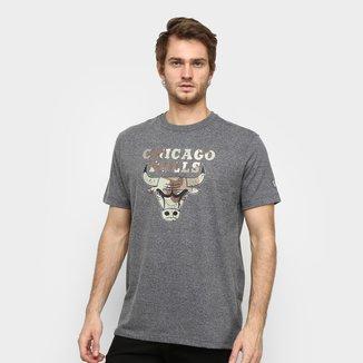 Camiseta NBA Chicago Bulls Desert Box New Era Masculina