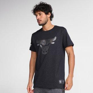 Camiseta NBA Chicago Bulls Estampada Masculina