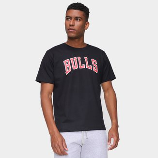 Camiseta NBA Chicago Bulls Logo Masculina
