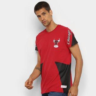 Camiseta NBA Chicago Bulls Long Mitchell & Ness Masculina