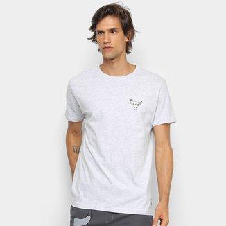 Camiseta NBA Chicago Bulls Metal LG Masculina