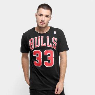Camiseta NBA Chicago Bulls nº 33 Scottie Pippen Mitchell & Ness Masculina