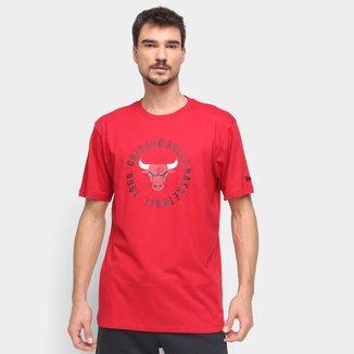 Camiseta NBA Chicago Bulls New Era College Team Masculina