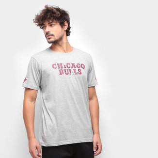 Camiseta NBA Chicago Bulls New Era Core Mixletters Masculina