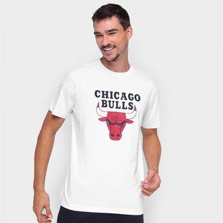 Camiseta NBA Chicago Bulls New Era Logo Masculina