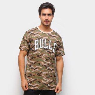 Camiseta NBA Chicago Bulls Pixels Masculina