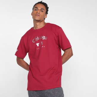 Camiseta NBA Chicago Bulls See Red Masculina
