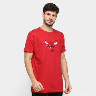 Camiseta NBA Chicago Bulls Vinil Masculina
