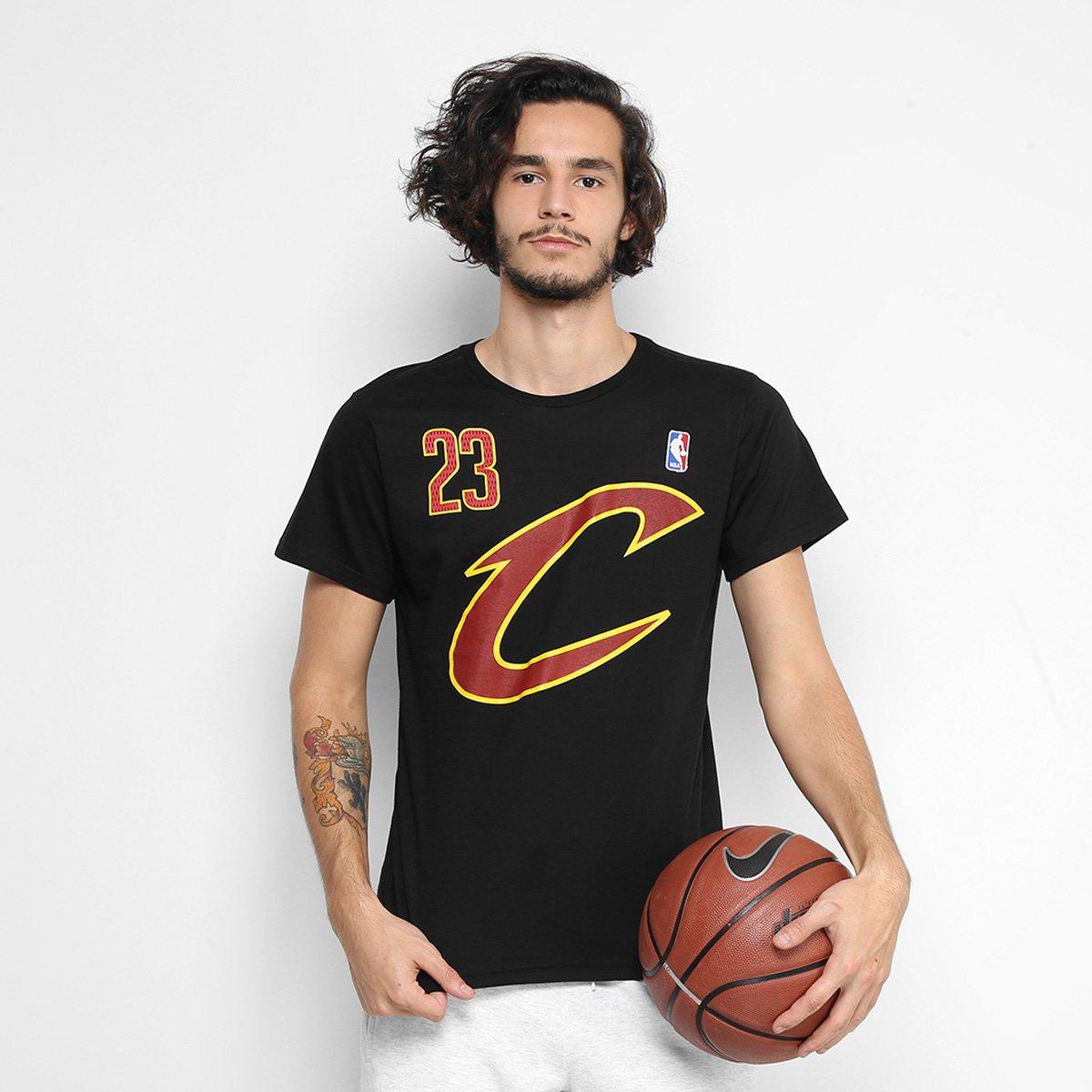 69f64c7f3 Camiseta NBA Cleveland Cavaliers - LeBron James 23 Masculina - Compre Agora