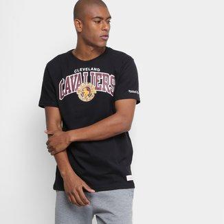 Camiseta NBA Cleveland Cavaliers Mitchell & Ness Team Masculina