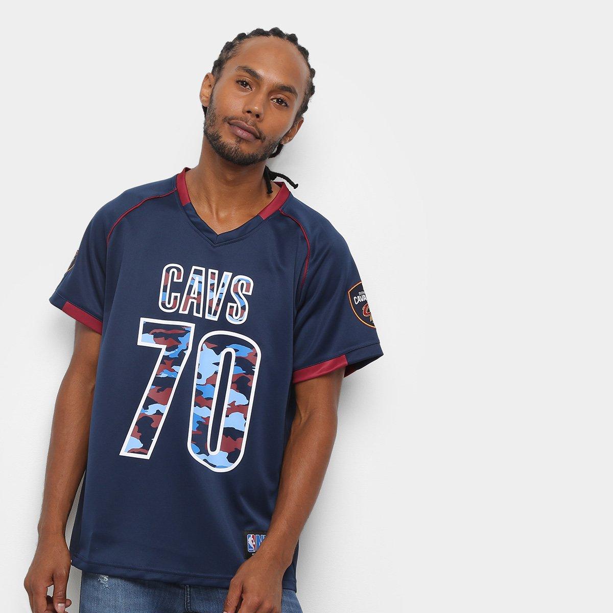Camiseta NBA Cleveland Cavaliers nº 70 Futebol Americano Masculina ... 42213951fb2b3