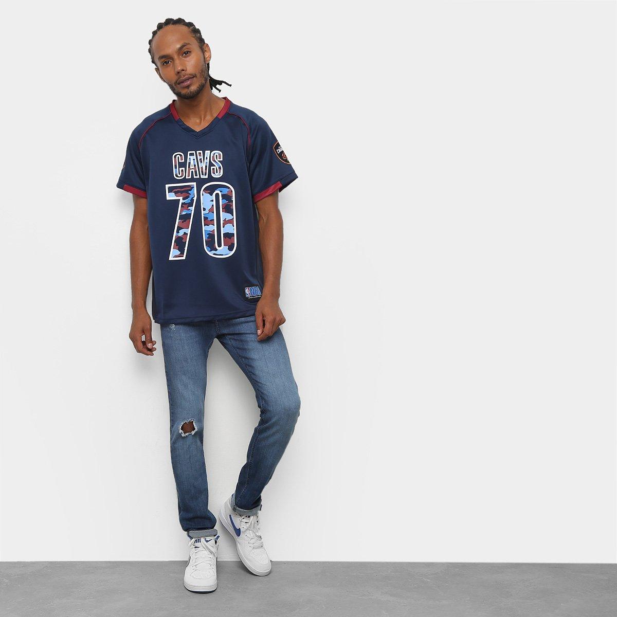 ... Camiseta NBA Cleveland Cavaliers nº 70 Futebol Americano Masculina ... fde517568b8b6