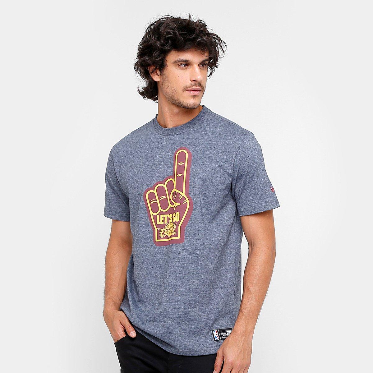 fd6d784f9 Camiseta NBA Cleveland Cavaliers New Era 07 Let s Go - Compre Agora ...