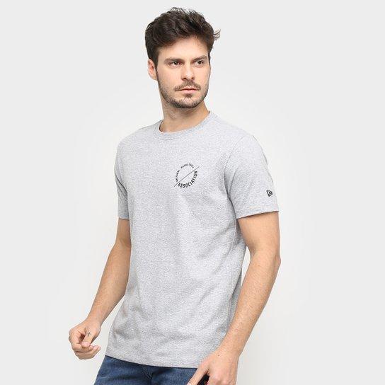 Camiseta NBA Desert Basic Masculina - Branco