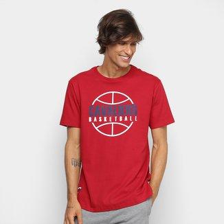 Camiseta NBA Est Outline Cleveland Cavaliers Masculina
