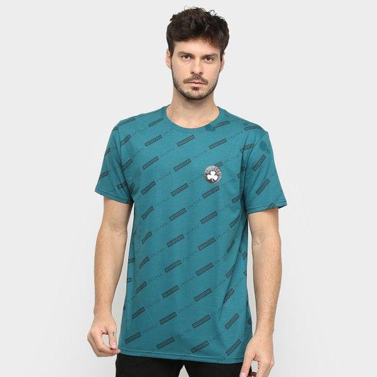Camiseta NBA Estampada Celtics Masculina - Azul