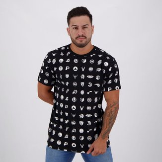 Camiseta NBA Full Print Times Liga Masculina