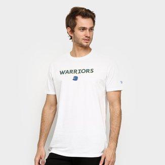 Camiseta NBA Golden State Warriors 90S Cap Continues New Era Masculina