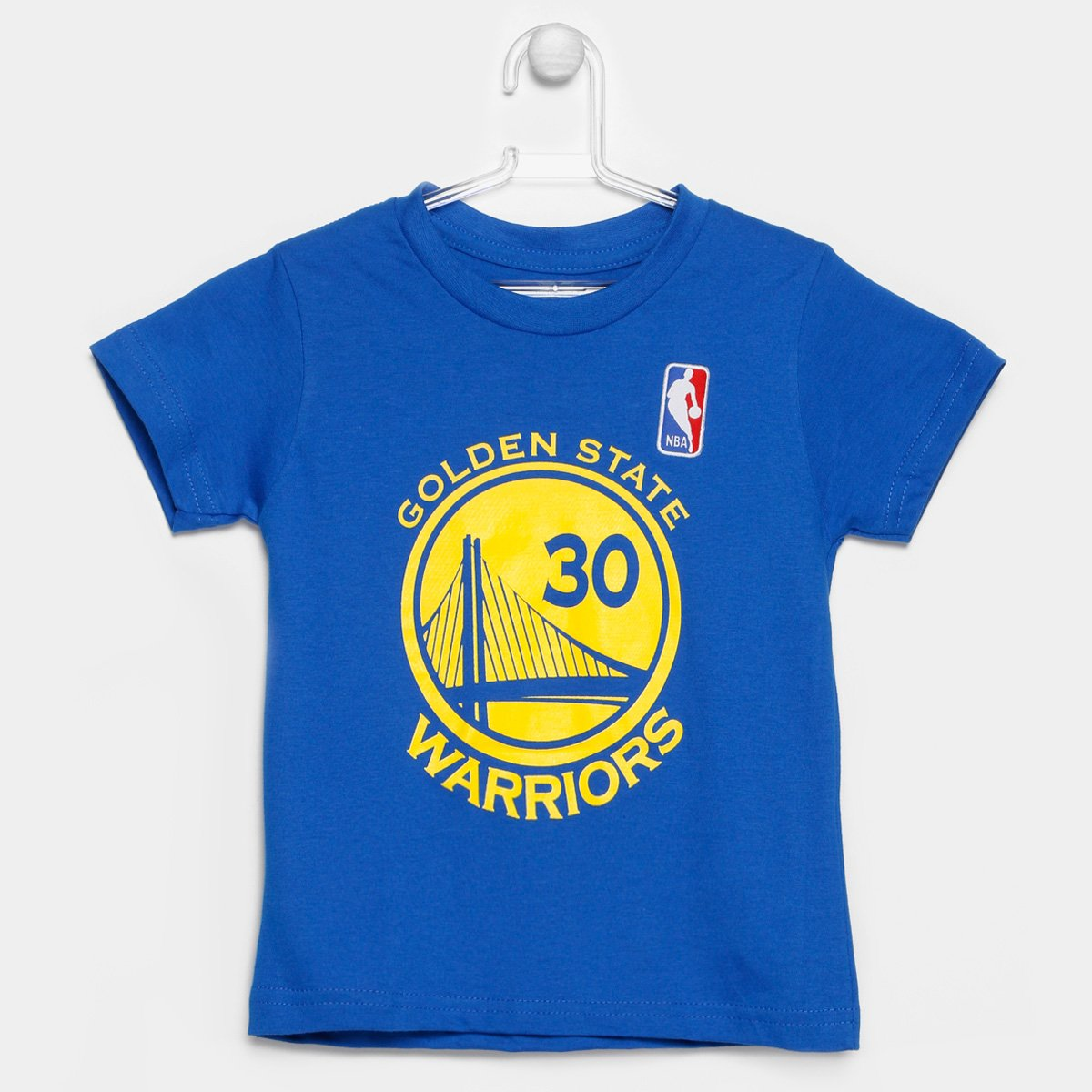 b46f89afa Camiseta NBA Golden State Warriors Curry 30 Infantil - Compre Agora ...