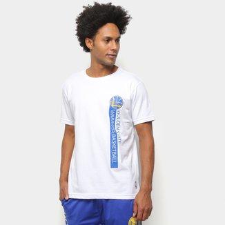 Camiseta NBA Golden State Warriors Flush Golwar Masculina
