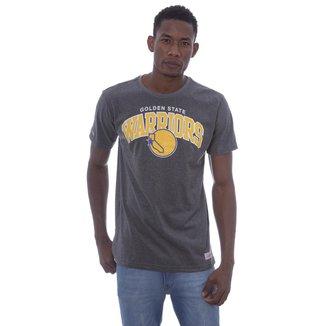 Camiseta NBA Golden State Warriors Mitchell & Ness Team Masculina