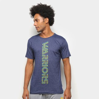 Camiseta NBA Golden State Warriors Neon Masculina