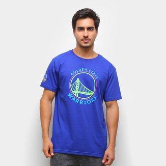Camiseta NBA Golden State Warriors Neon Masculina