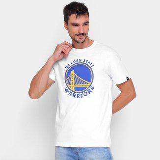Camiseta NBA Golden State Warriors New Era Logo Masculina