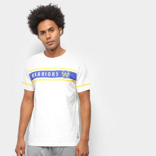 Camiseta NBA Golden State Warriors Sport Masculina - Off White