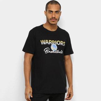 Camiseta NBA Golden State Warriors Sun Basketball Masculina