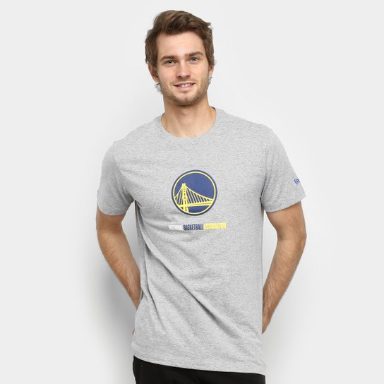 Camiseta NBA Golden State Warriors Under Dance League Masculina - Mescla