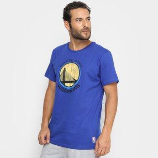 Camiseta NBA Golden State Warriors Wool Court Masculina