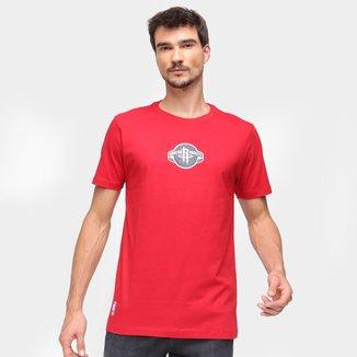 Camiseta NBA Houston Rockets New Era College Team Area Masculina