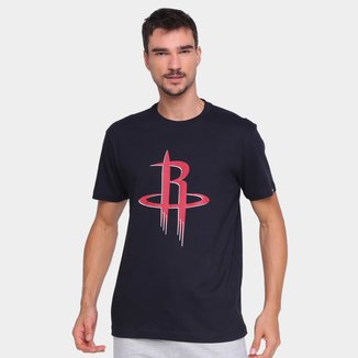 Camiseta NBA Houston Rockets New Era Logo Masculina