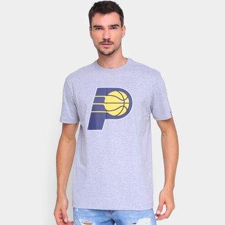 Camiseta NBA Indiana Pacers New Era Logo Masculina