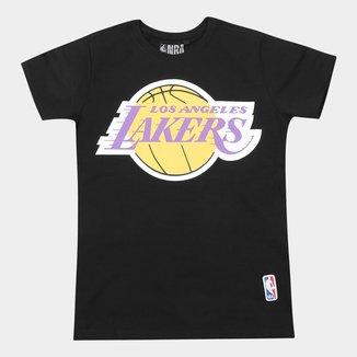 Camiseta NBA Infantil Los Angeles Lakers Big Logo